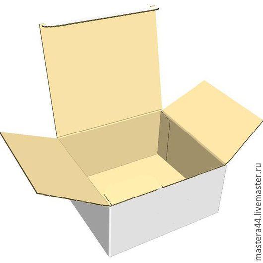 Упаковка ручной работы. Ярмарка Мастеров - ручная работа. Купить картонная коробка 3х слойный тип 2. Handmade.
