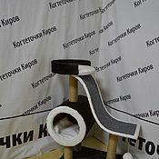 Когтеточки ручной работы. Ярмарка Мастеров - ручная работа Когтеточка с горкой. Handmade.