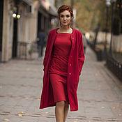 Одежда ручной работы. Ярмарка Мастеров - ручная работа пальто Вacca. Handmade.