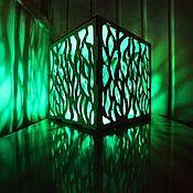 Упаковка ручной работы. Ярмарка Мастеров - ручная работа Куб-ночник ручной работы CUB Nature. Handmade.