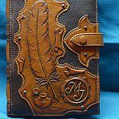 "Канцелярские товары handmade. Livemaster - original item Notebook ""LYRICS"". Handmade."