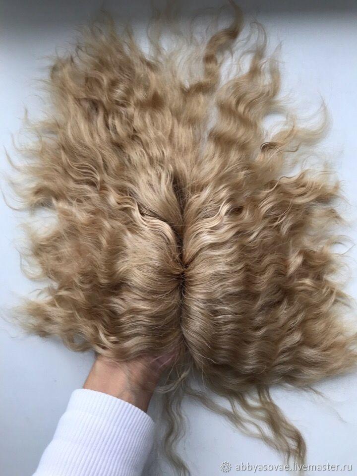 Кукольные волосы тресс мохер 732, Шерсть, Нижний Новгород, Фото №1