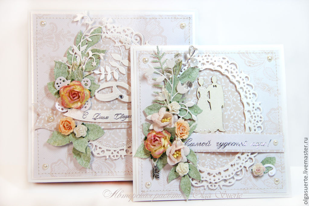 Свадебные авторские открытки