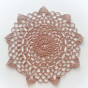 Для дома и интерьера handmade. Livemaster - original item Knitted interior cloth