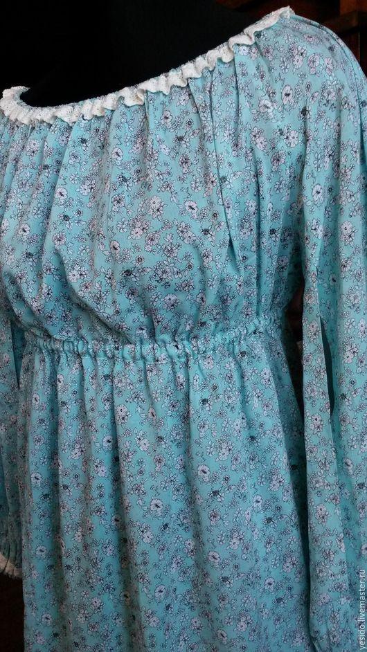 Для будущих и молодых мам ручной работы. Ярмарка Мастеров - ручная работа. Купить Платье для беременных. Handmade. Мятный