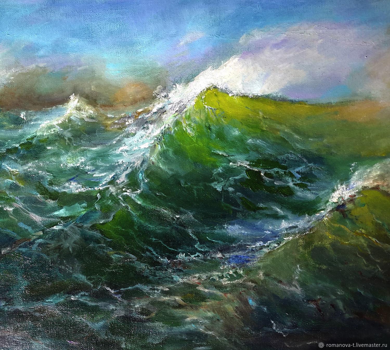 Море волнуется, Картины, Москва,  Фото №1