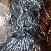 Материалы для творчества ручной работы. Ярмарка Мастеров - ручная работа Пряжа. Вискоза. 3 цвета.. Handmade.