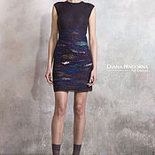 Одежда handmade. Livemaster - original item Dress of Merino wool and silk