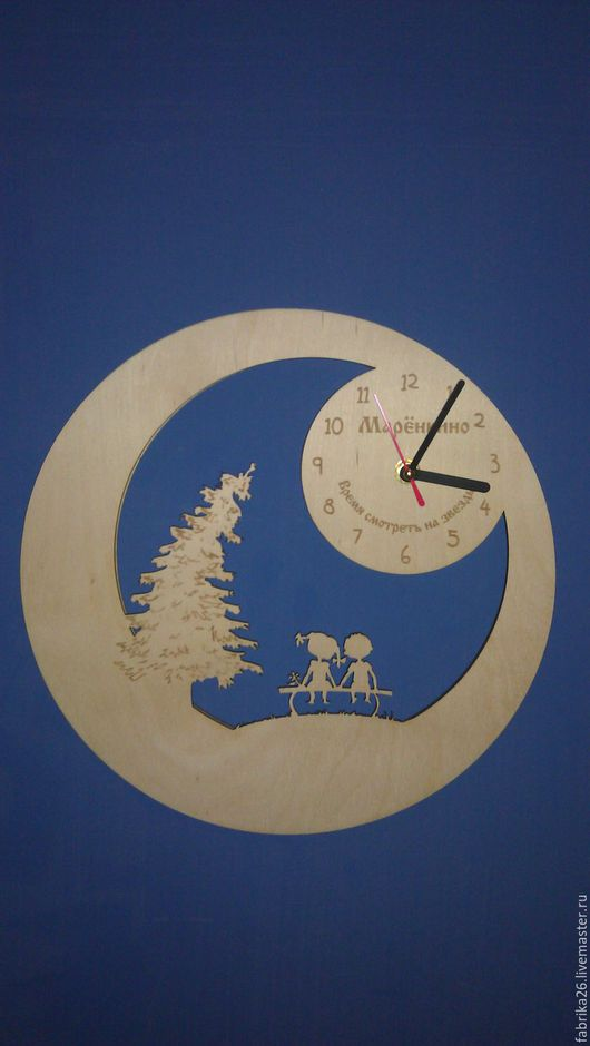 Часы для дома ручной работы. Ярмарка Мастеров - ручная работа. Купить часы мальчик и девочка. Handmade. Часы дизайнерские, часы