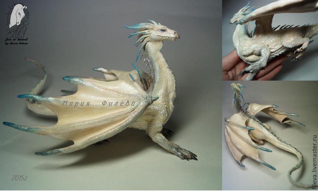 Фигурка дракона своими руками