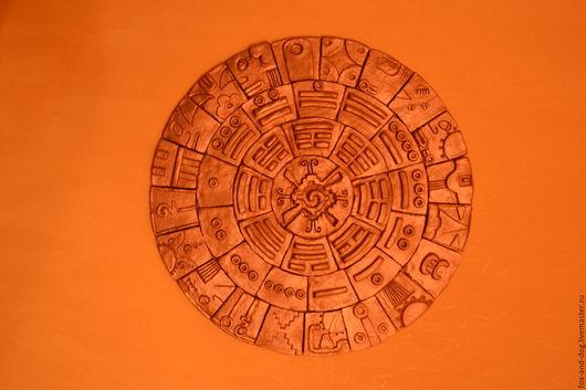 Солнечный щит, щит Пакаль Вотана: уникальный магический артефакт для проведения практик и медитаций. Глина в бронзе. Береника Фокс.