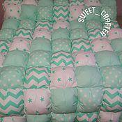 Для дома и интерьера ручной работы. Ярмарка Мастеров - ручная работа Бомбон-одеяло. Handmade.