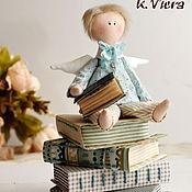 Куклы и игрушки ручной работы. Ярмарка Мастеров - ручная работа Ангел тильда ученик. Handmade.