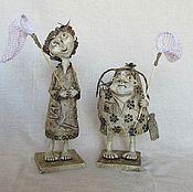 Куклы и игрушки ручной работы. Ярмарка Мастеров - ручная работа Юннатка Бята и Гата. Handmade.