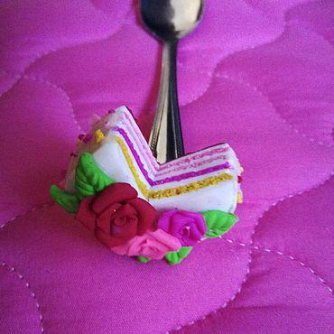 """Посуда ручной работы. Ярмарка Мастеров - ручная работа Ложка """"Тортик"""". Handmade."""