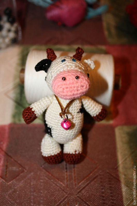 Игрушки животные, ручной работы. Ярмарка Мастеров - ручная работа. Купить Коровка Нора. Handmade. Комбинированный, коровы, игрушка в подарок