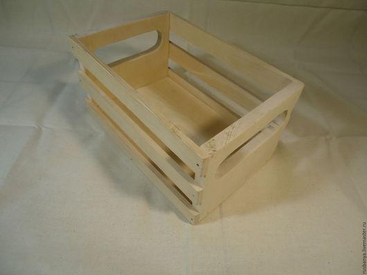 Декупаж и роспись ручной работы. Ярмарка Мастеров - ручная работа. Купить Ящик деревянный. Handmade. Ящик, заготовки из дерева