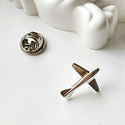 Украшения handmade. Livemaster - original item Icon: Aircraft made of 925 sterling silver (B1). Handmade.
