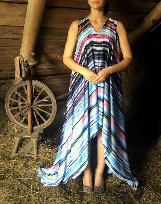 """Платья ручной работы. Ярмарка Мастеров - ручная работа. Купить Платье """"И льётся песня"""". Handmade. На выпускной"""
