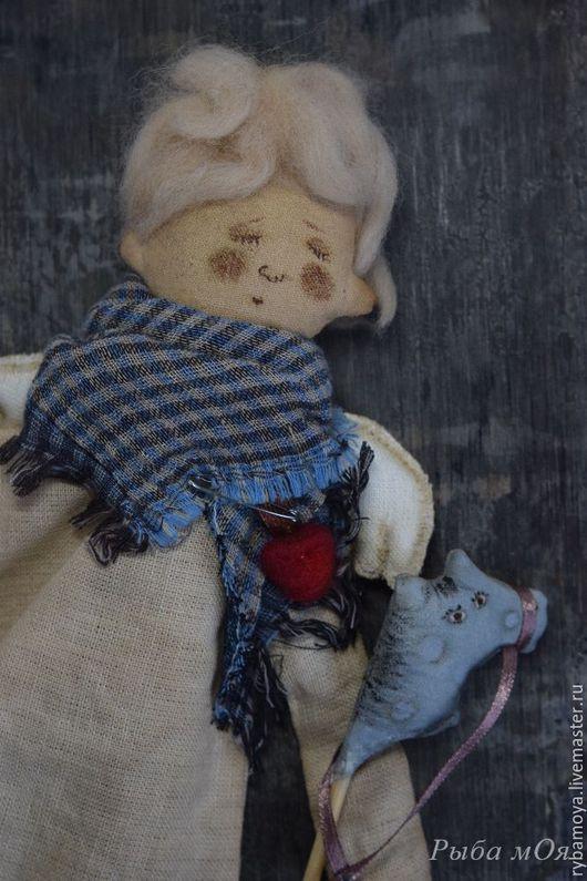 Ароматизированная  чердачная кукла Спящий ангел. Ярмарка мастеров-ручная работы. Handmade. Купить чердачного ангела.  Оберег на сны, как в детстве)) Мастер Яга.
