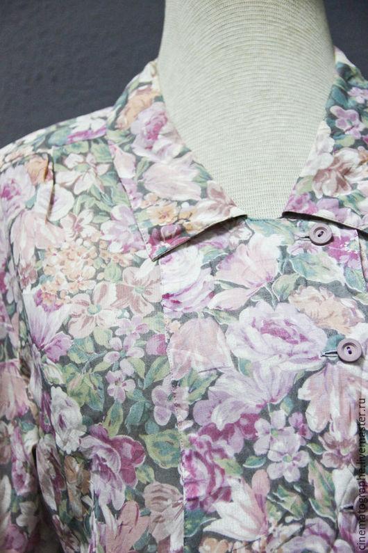 Одежда. Ярмарка Мастеров - ручная работа. Купить Платье ROCASE 70-е годы Япония винтаж розы. Handmade. Комбинированный