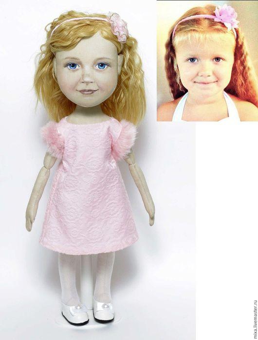 Портретные куклы ручной работы. Ярмарка Мастеров - ручная работа. Купить Портретная кукла, девочка. Handmade. Кукла по фото
