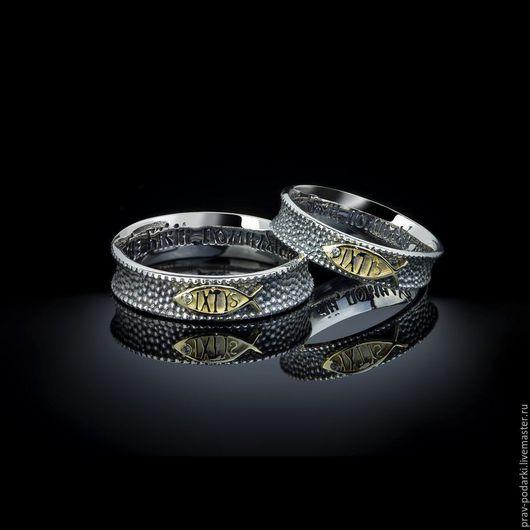 """Кольца ручной работы. Ярмарка Мастеров - ручная работа. Купить Кольцо с рыбой """"IXTYS"""". Handmade. Кольцо из серебра, подарки для женщин"""