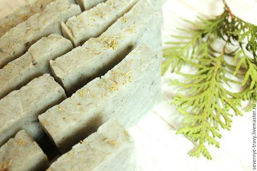 """Мыло ручной работы. Ярмарка Мастеров - ручная работа. Купить """"Розмарин и туя"""" - натуральное мыло с нуля ручной работы. Handmade."""