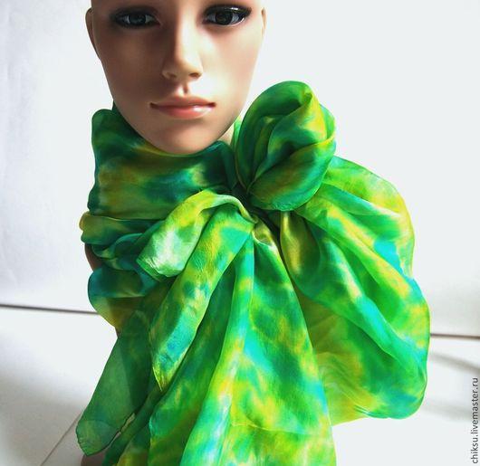 Заколка для шарфа в подарок