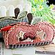 Обучающие материалы ручной работы. Ярмарка Мастеров - ручная работа. Купить Набор 4 Косметичка яблочко.. Handmade.