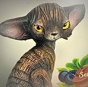 Подарки к праздникам handmade. Livemaster - original item Mocha, miniature demonica. Handmade.