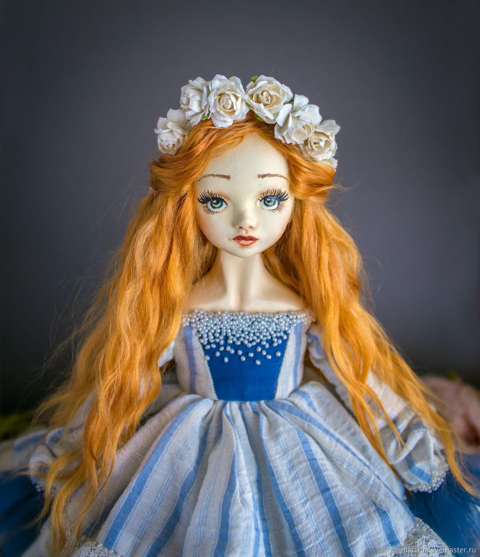 Interior doll , collectible handmade doll, OOAK doll, art doll, Dolls, Nizhny Novgorod,  Фото №1