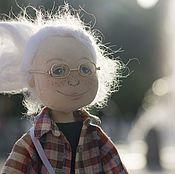 Портретная кукла ручной работы. Ярмарка Мастеров - ручная работа Кукла по фото в джинсах и рубашке. Handmade.