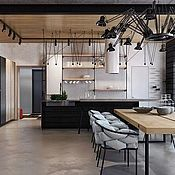 Для дома и интерьера ручной работы. Ярмарка Мастеров - ручная работа кухня в стиле лофт. Handmade.