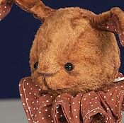 Куклы и игрушки ручной работы. Ярмарка Мастеров - ручная работа заяц Василий ( 19 см ). Handmade.