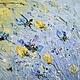 тюльпаны картина маслом на холсте с подрамником с сиреневые желтые фиолетовые цветы закат восход объемная живопись маслом купить картину мастихин импасто маткина пермь купить картину заказать сиреневы