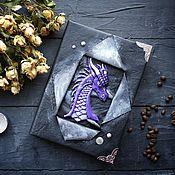 Канцелярские товары handmade. Livemaster - original item Book of shadows dragon. Handmade.
