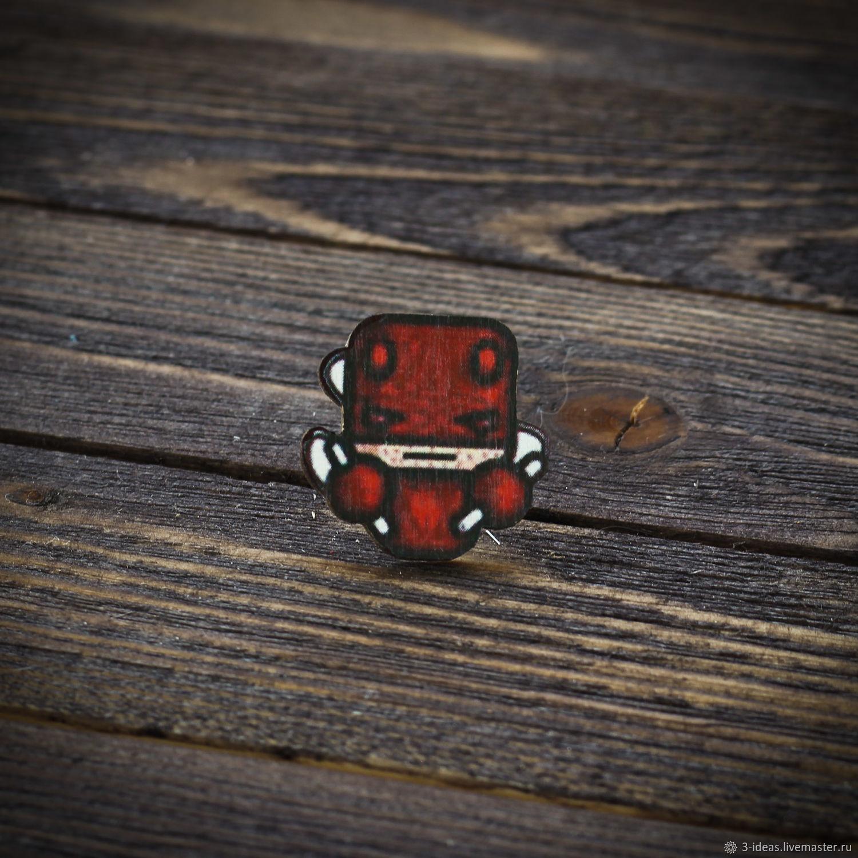 Wooden icon Daredevil, Badge, Volzhsky,  Фото №1