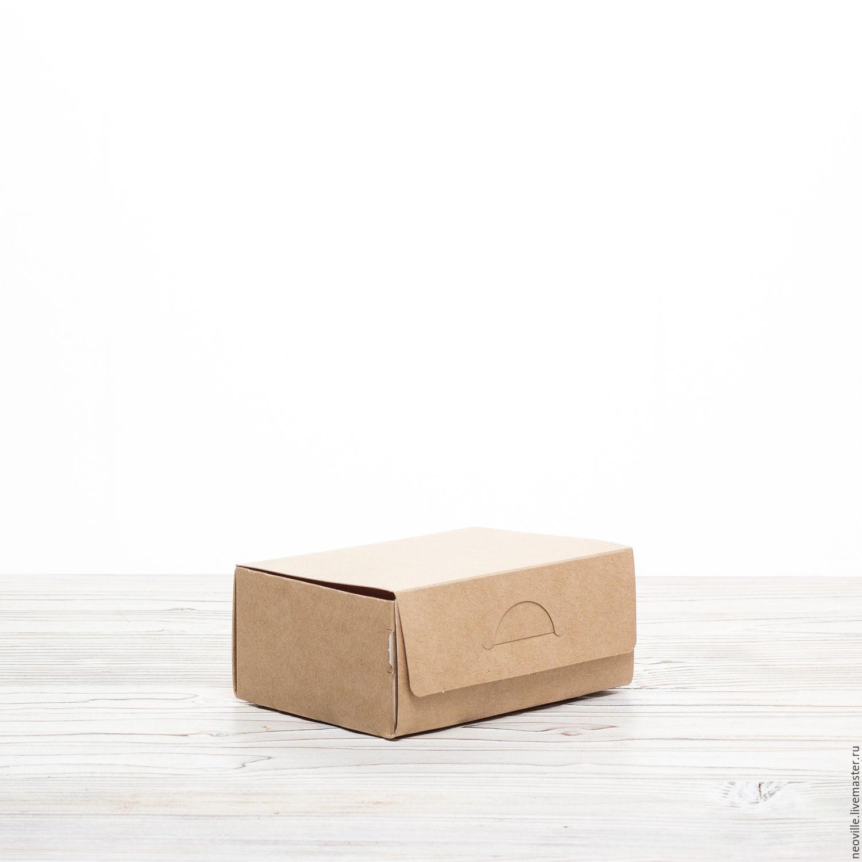 N15 Коробка 12х8.5х5см крафт, Коробки, Москва,  Фото №1