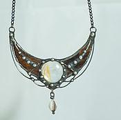 Украшения handmade. Livemaster - original item Moonlight Cave pendant (pl-016). Handmade.