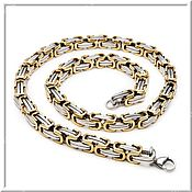 Украшения handmade. Livemaster - original item Chain steel no 1 Length 55 cm and 61 cm.. Handmade.