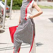 Одежда handmade. Livemaster - original item Summer, women`s suit, loose trousers and blouse - SE0646CV. Handmade.