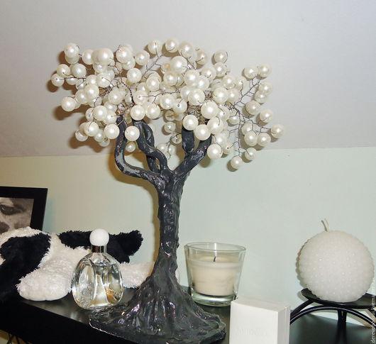 """Бонсай ручной работы. Ярмарка Мастеров - ручная работа. Купить Бонсай """"Дерево счастья"""". Handmade. Бонсай, подарок на день рождения"""