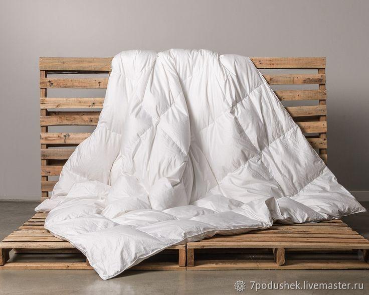 Белое одеяло из поликотона (летнее, демисезоннее, зимнее, очень теплое, Одеяла, Москва,  Фото №1