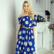 Одежда handmade. Livemaster - original item Dress summer dress long to the floor