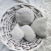 Для дома и интерьера ручной работы. Ярмарка Мастеров - ручная работа Ароматные саше с вышивкой для комода. Handmade.