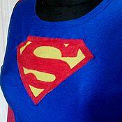 Одежда ручной работы. Ярмарка Мастеров - ручная работа Супергерл. Handmade.