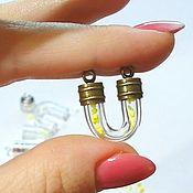 Материалы для творчества handmade. Livemaster - original item U-shaped glass flask, No. №9. Handmade.