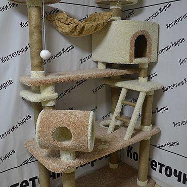 Товары для питомцев ручной работы. Ярмарка Мастеров - ручная работа Когтеточка для кошек. Handmade.