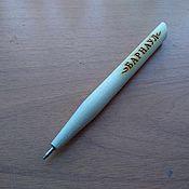 Ручки ручной работы. Ярмарка Мастеров - ручная работа Деревянная ручка с гравировкой, индивидуальный дизайн, сувенир. Handmade.